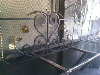 Мусульманские оградки на могилу